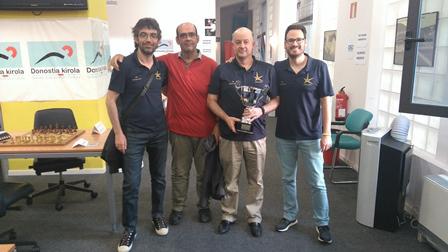 El equipo ganador: Fomento (Rentería)