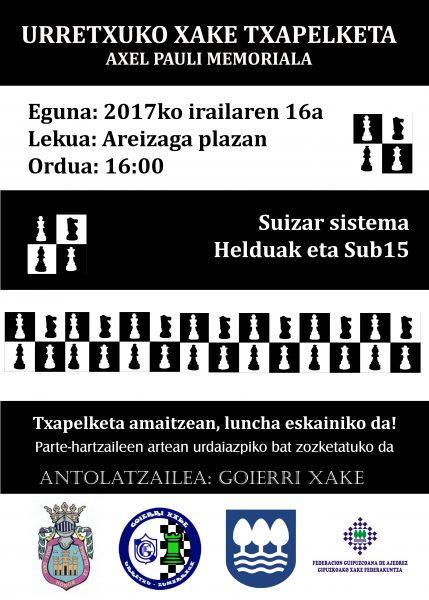 Cartel Urretxu2017