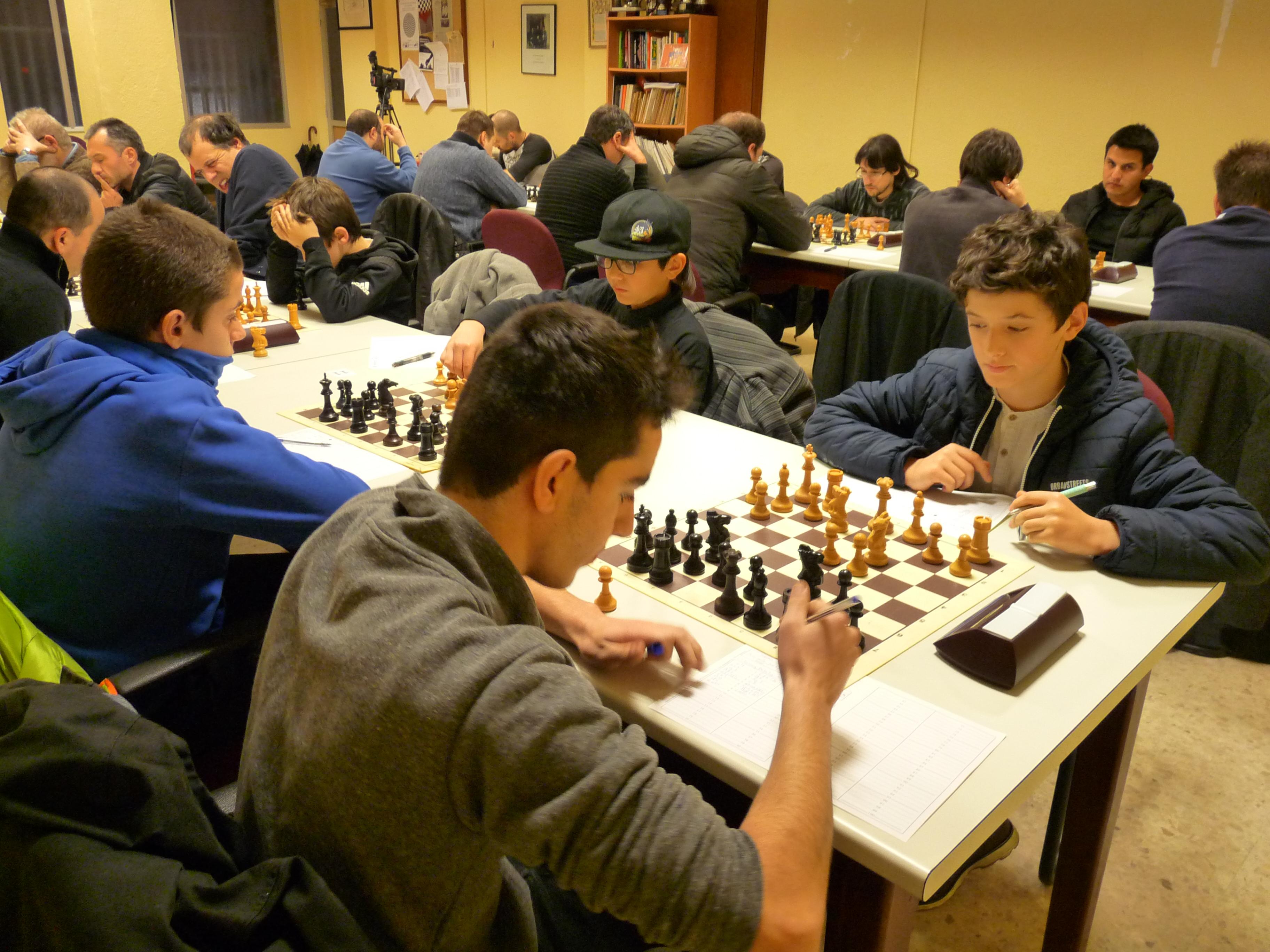 Jóvenes participantes